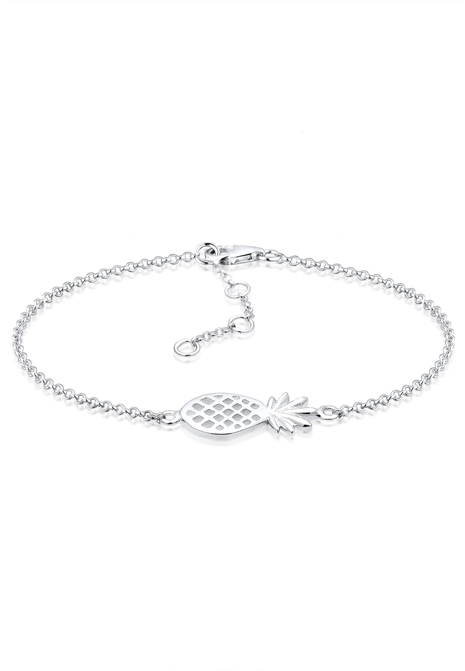 Armband Ananas   925er Sterling Silber