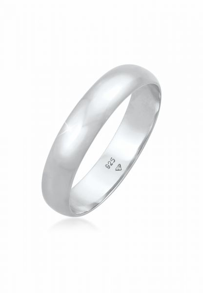 Elli Ring Basic Bandring Casual Look 925 Sterling Silber