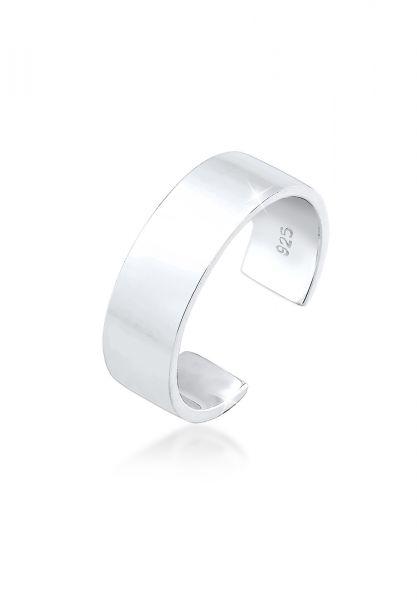 Elli Ring MIDI Geo Minimal Trend Basic 925 Sterling Silber
