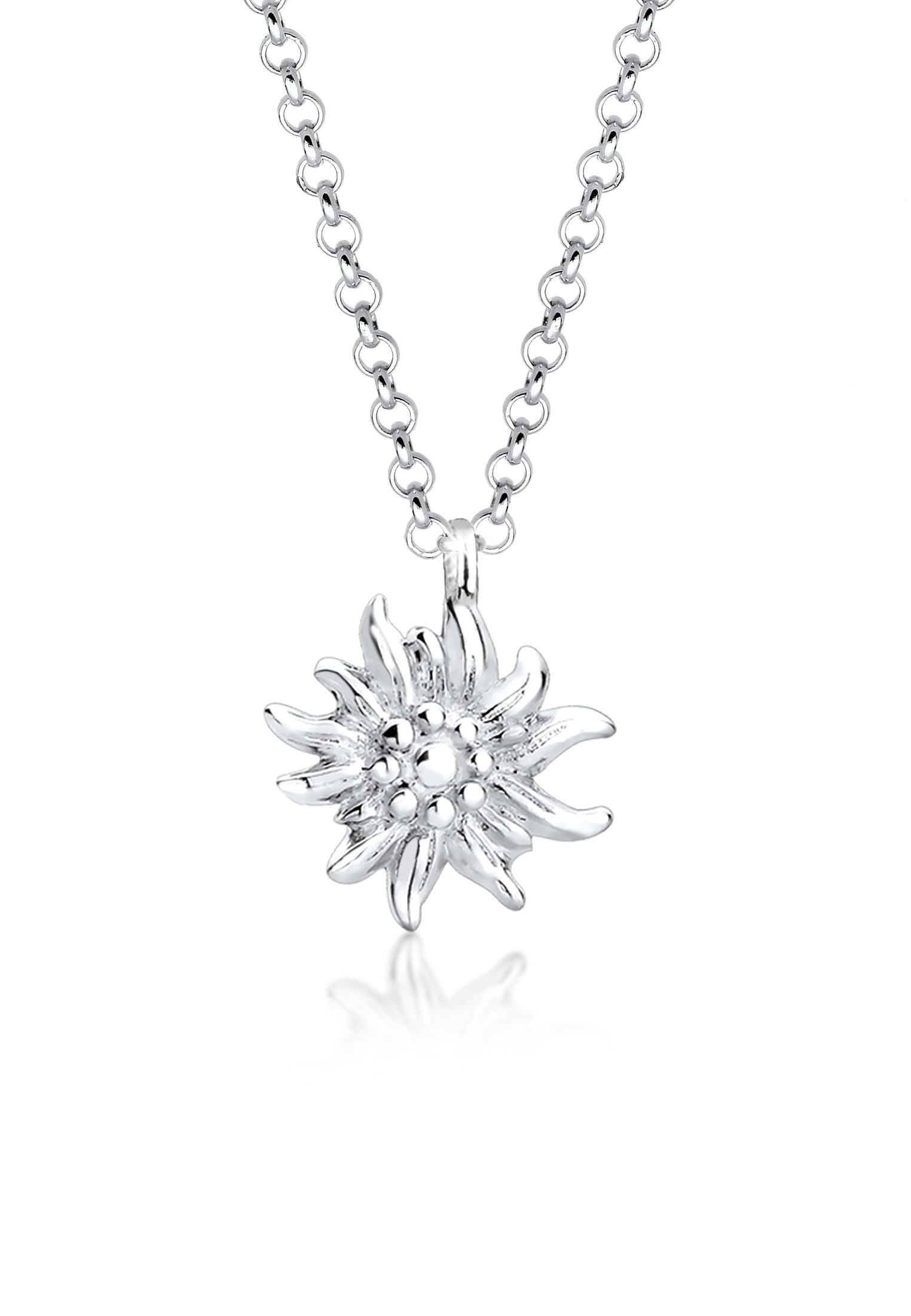 Halskette Edelweiss | 925er Sterling Silber