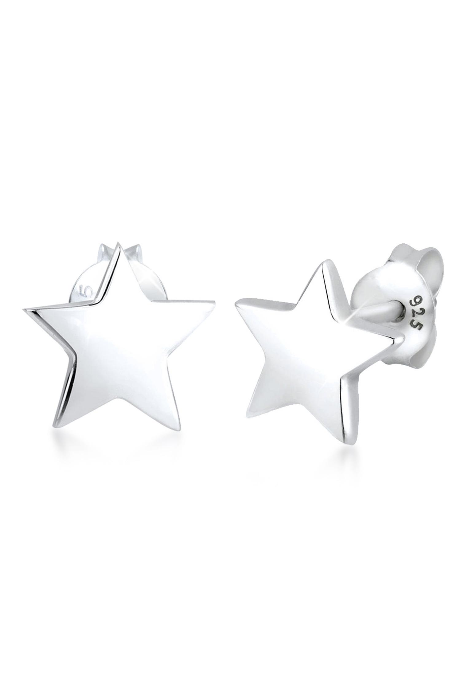 Ohrstecker Stern | 925er Sterling Silber