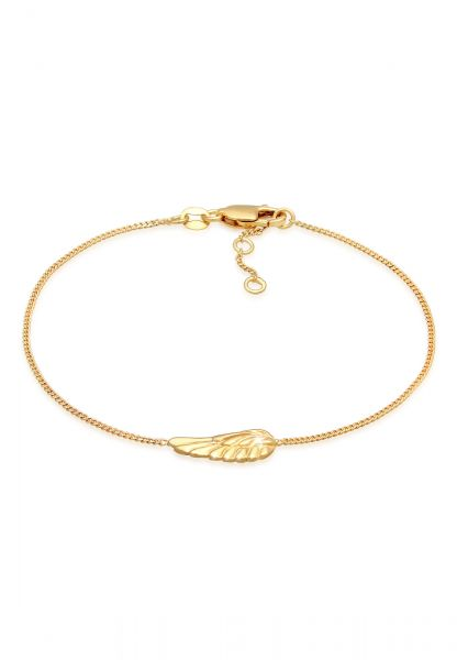 Armband Flügel | 375 Gelbgold
