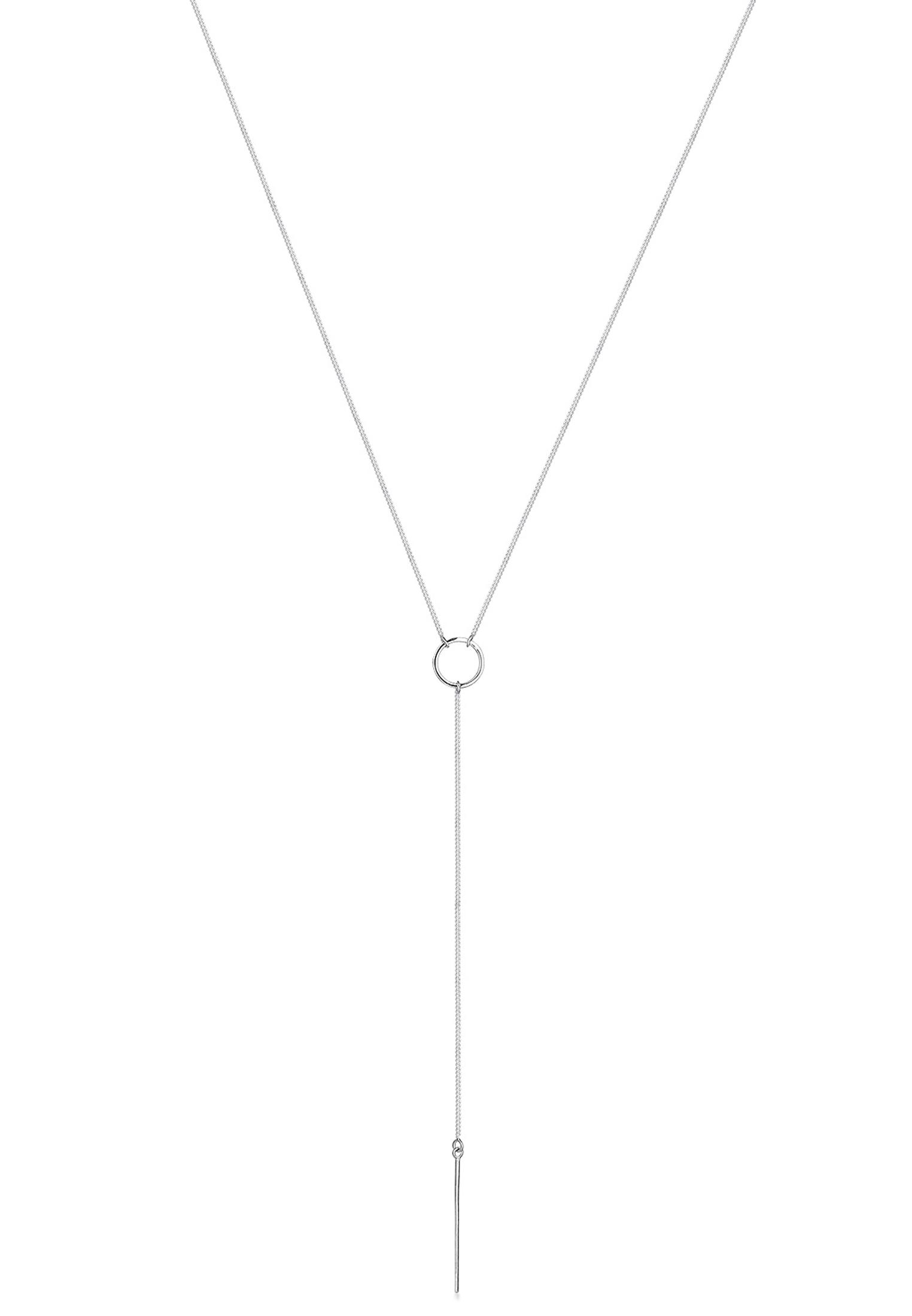 Y-Halskette Geo | 925er Sterling Silber