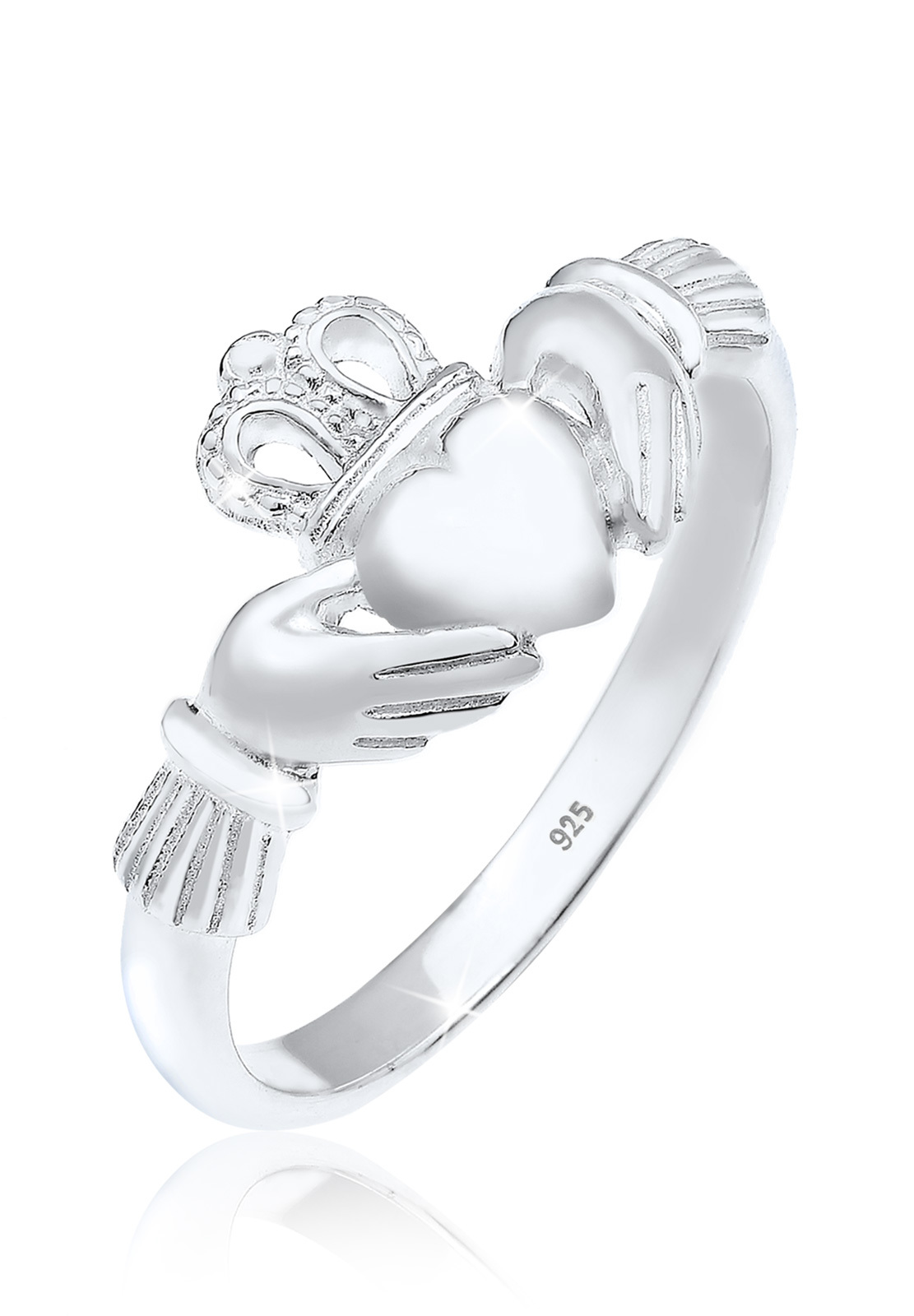 Ring Claddagh   925er Sterling Silber