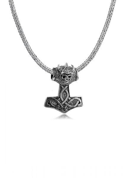 Schlangen-Halskette Hammer | 925er Sterling Silber