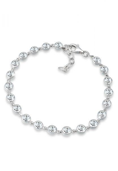 Elli PREMIUM Armband Kristalle 925 Sterling Silber