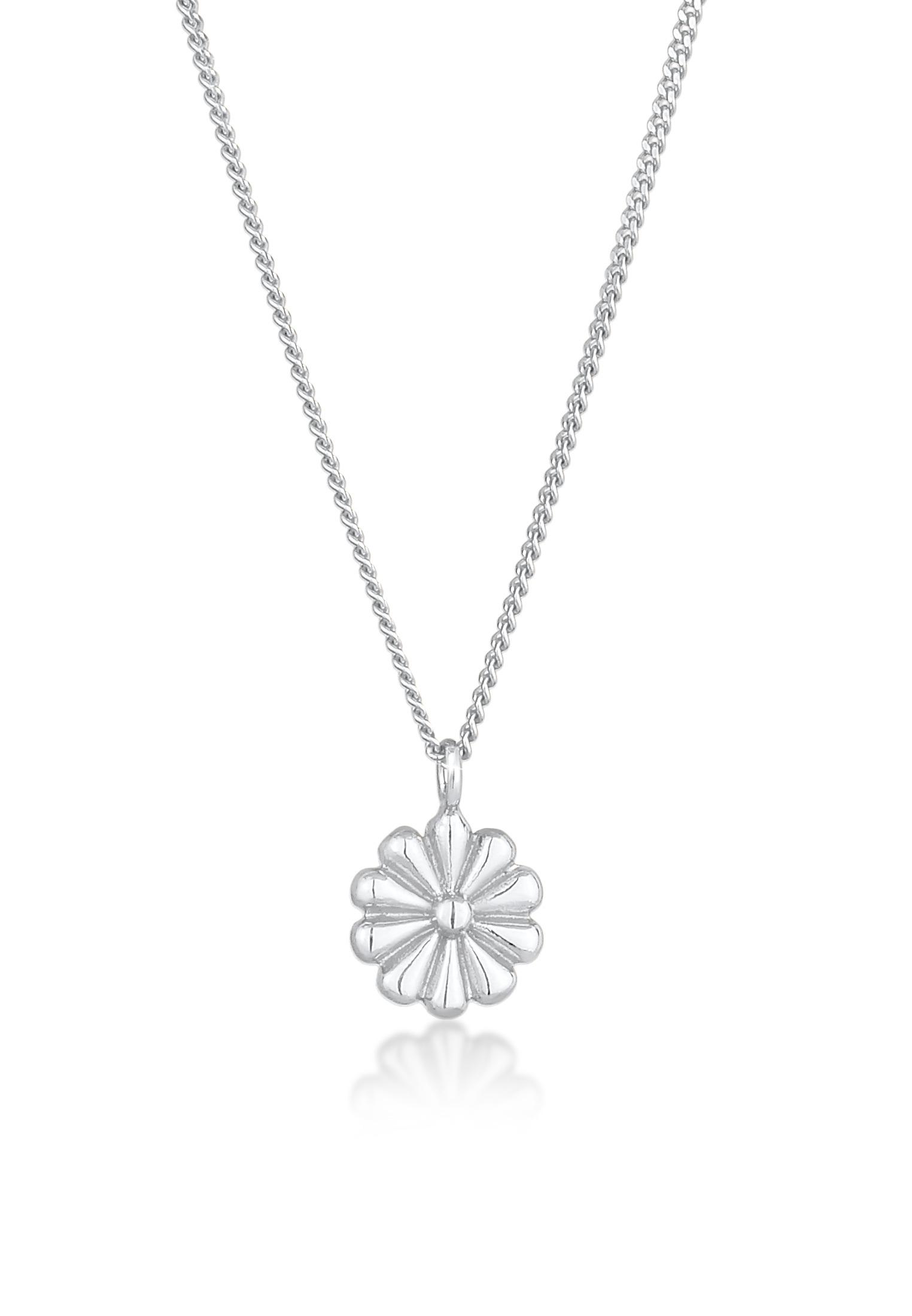 Halskette Blume | 925er Sterling Silber