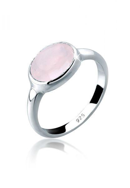 Ring | Quarz ( Rosa ) | 925er Sterling Silber