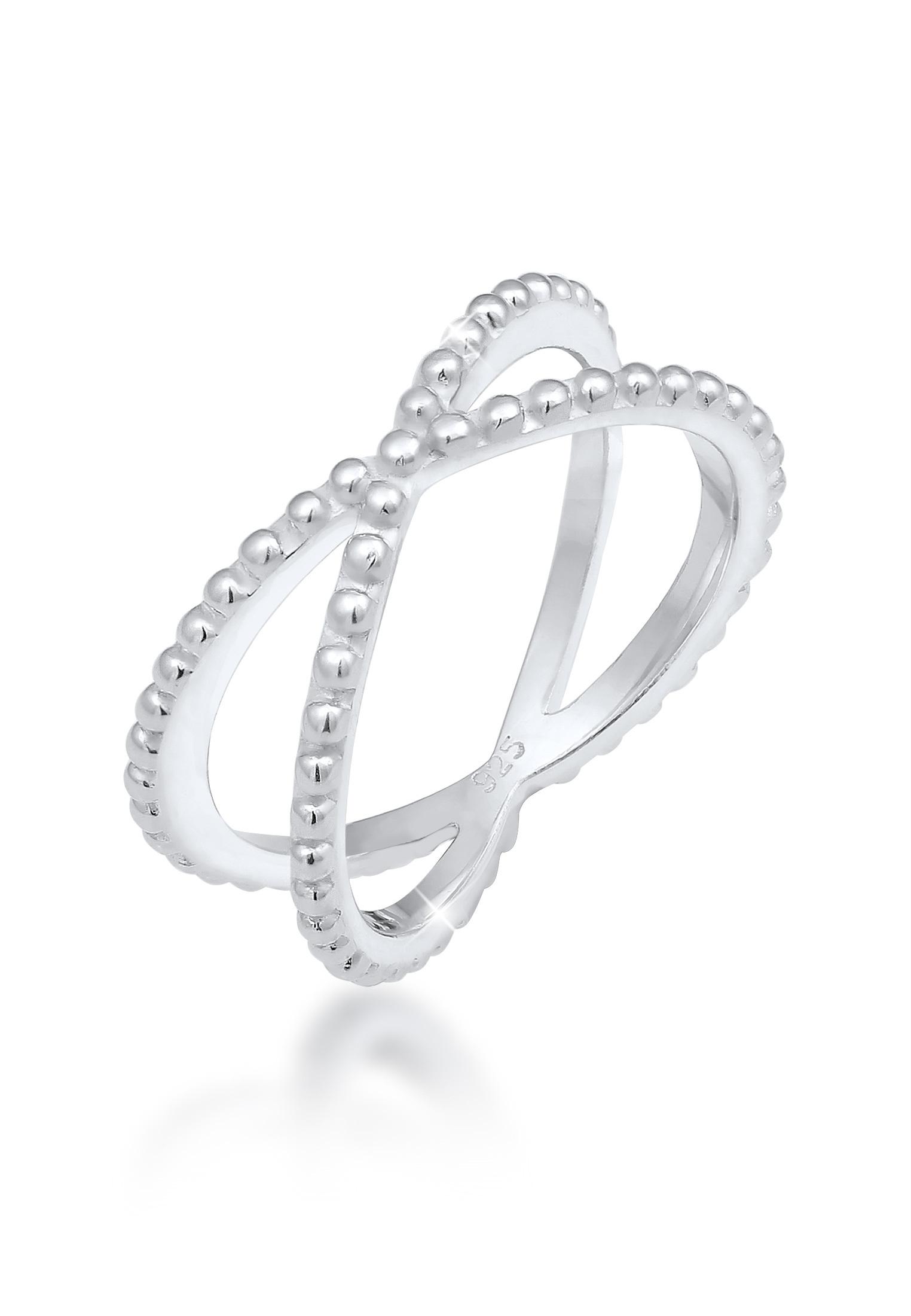 Ring Kugel   925er Sterling Silber