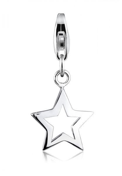 Elli Charm Stern Astro Star Gestirne 925 Sterling Silber