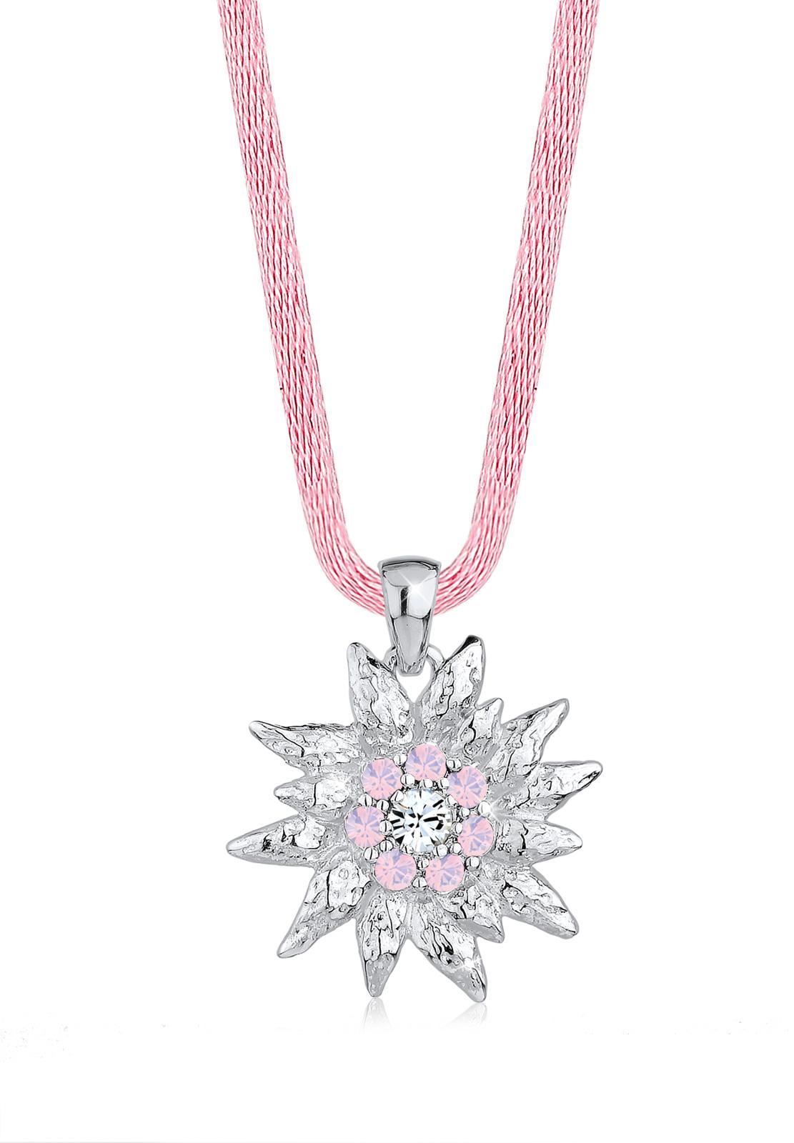 Edelweiss Wiesn Kristalle 925 Silber