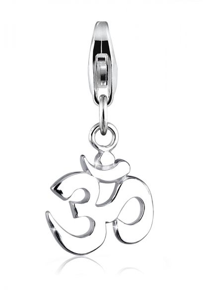 Elli Charm Om Kraftsymbol Talisman 925 Sterling Silber