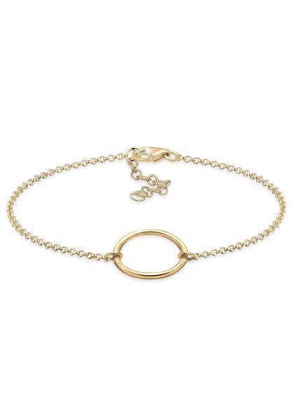 Elli Armband Kreis 925 Sterling Silber