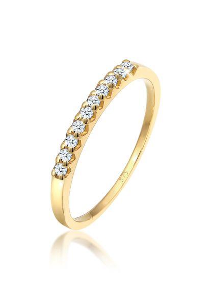 Bandring | Diamant ( Weiß, 0,15 ct ) | 375 Gelbgold