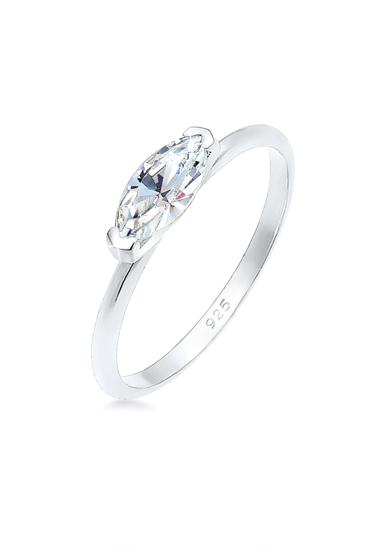 Ring | Zirkonia ( Weiß ) | 925er Sterling Silber