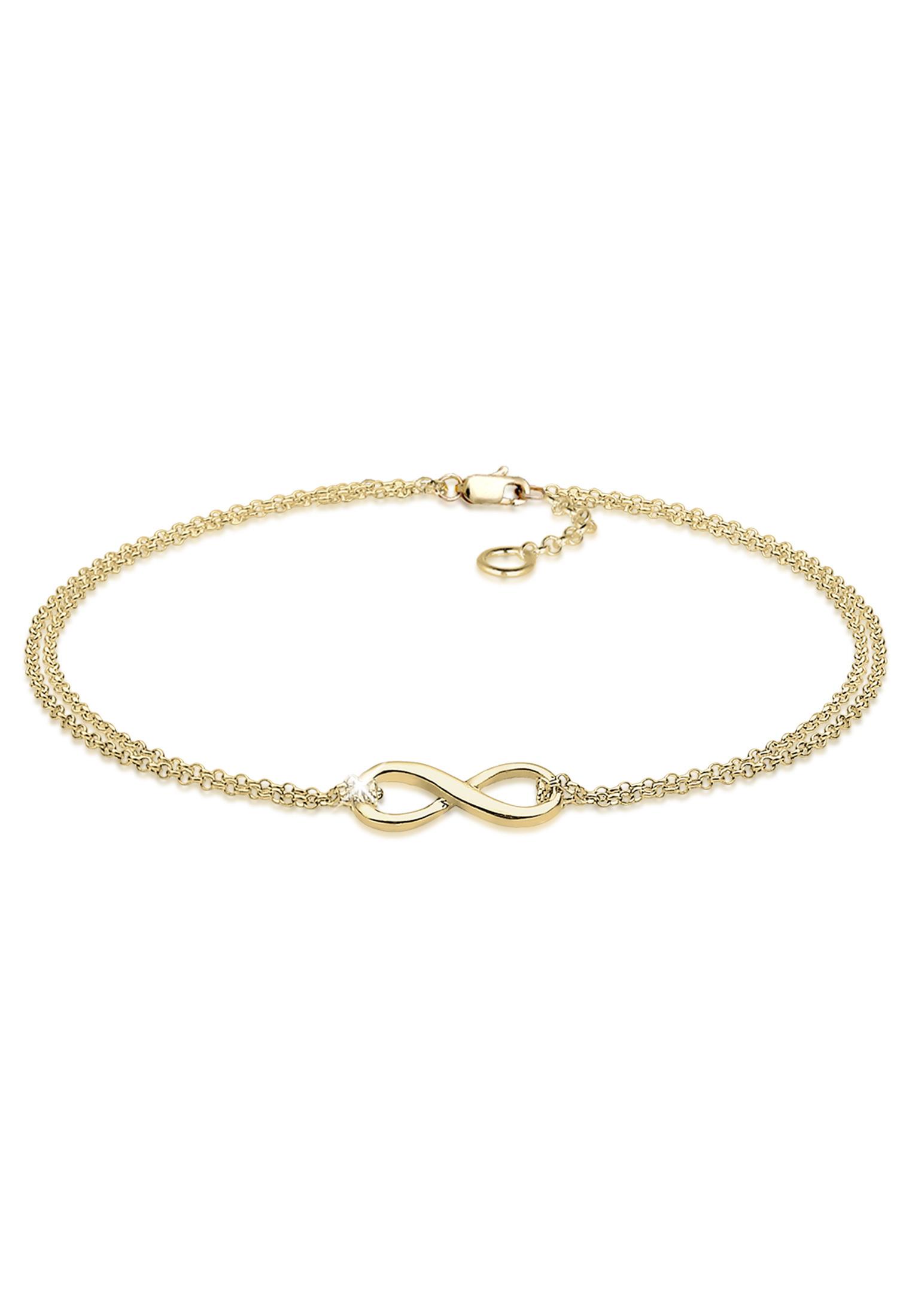 Armband Infinity | 375 Gelbgold