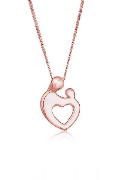 Elli Halskette Mutter & Kind Verbundenheit 925 Sterling Silber