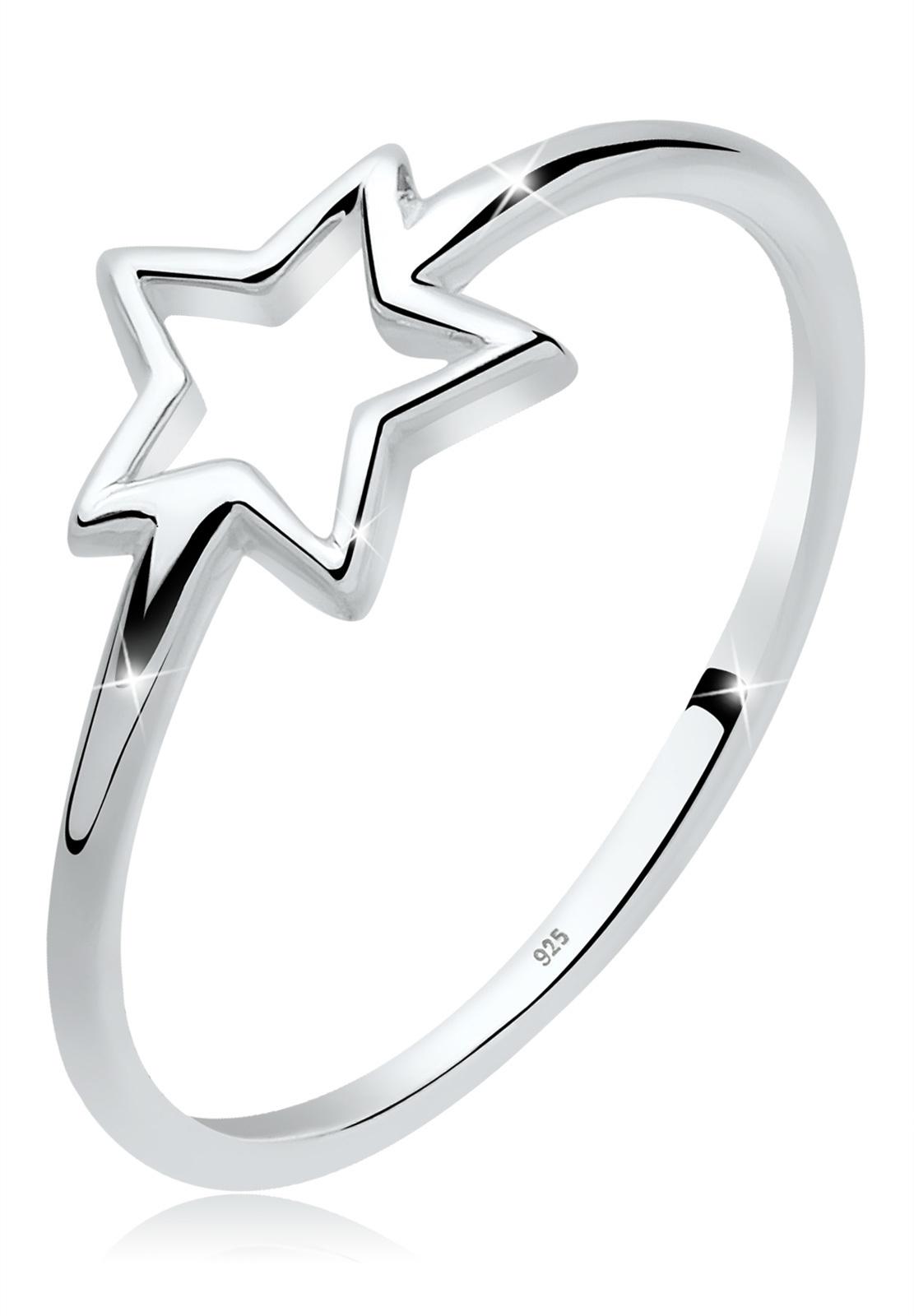 Ring Stern   925er Sterling Silber
