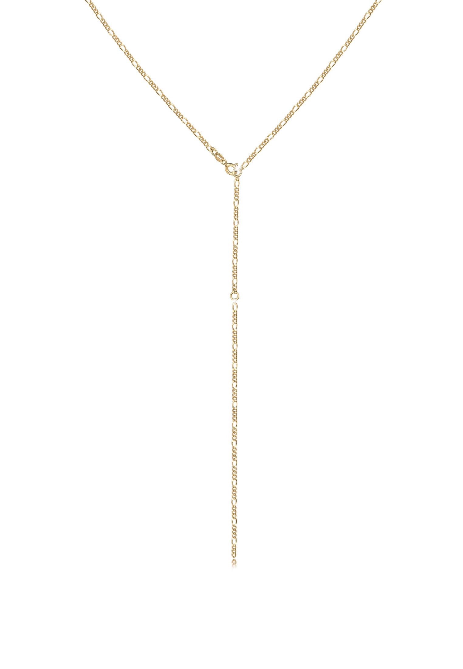 Figaro-Y-Halskette   925er Sterling Silber