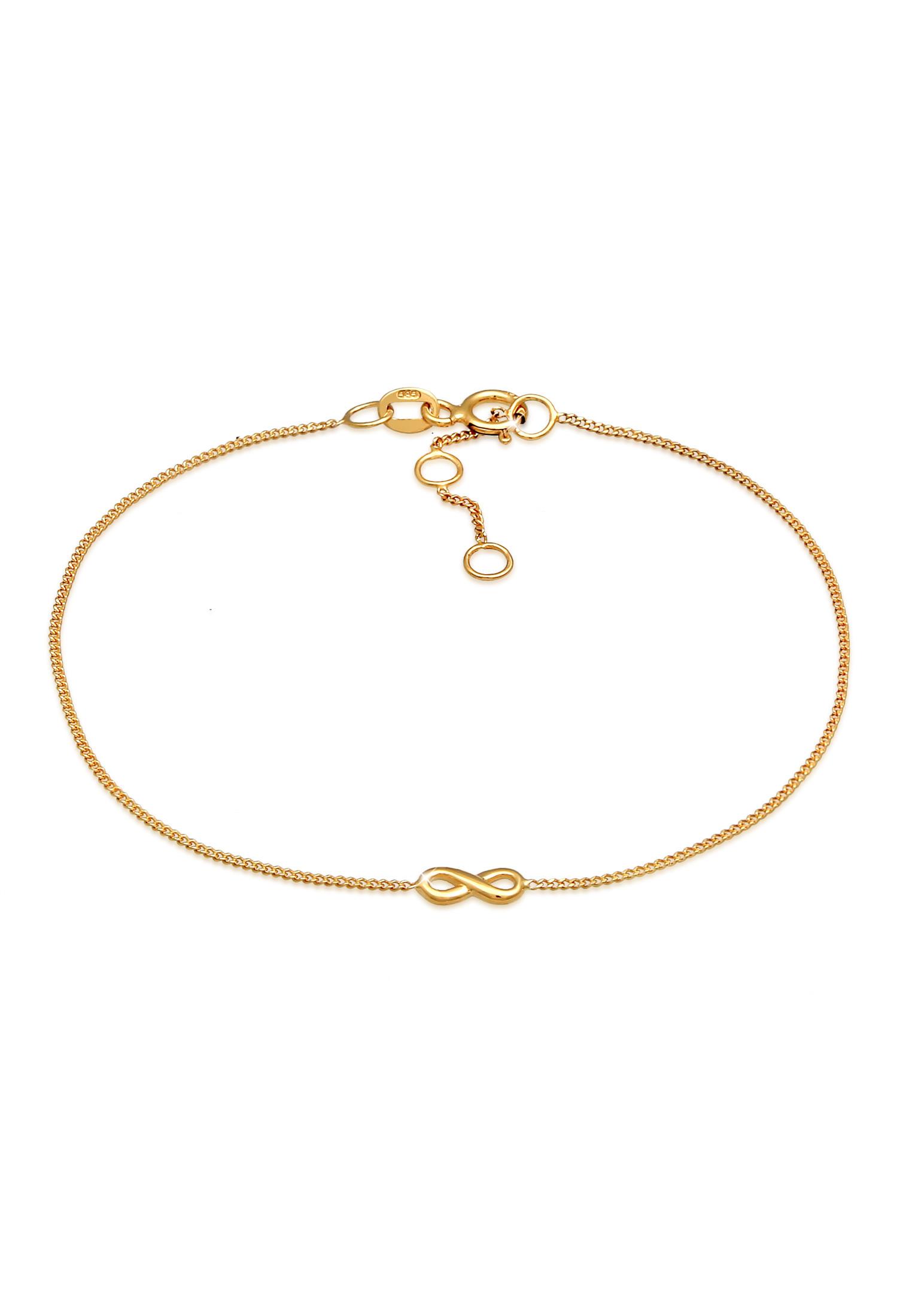 Armband Infinity Symbol   585er Gelbgold