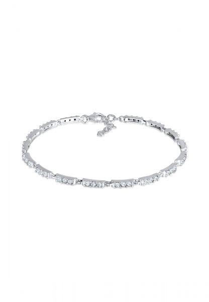 Elli Armband Tennisarmband Kristalle 925 Sterling Silber