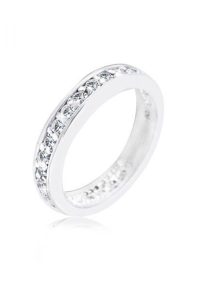 Elli Ring Bandring Kristalle 925 Sterling Silber