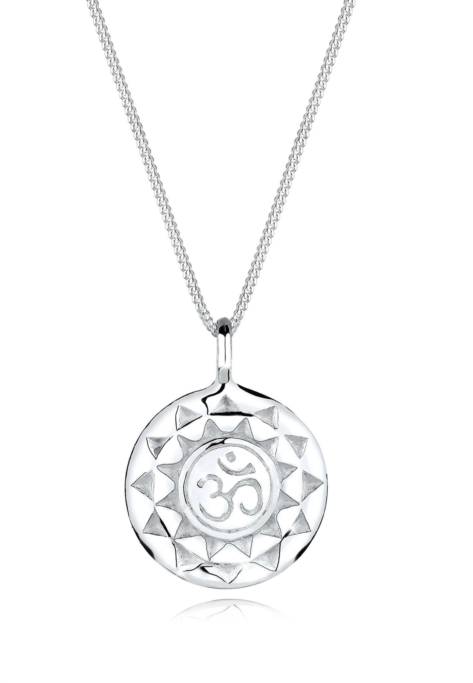 Halskette Om | 925er Sterling Silber