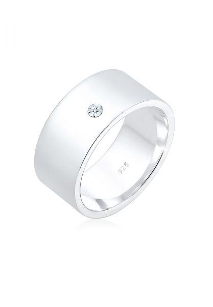 Bandring | Diamant ( Weiß, 0,03 ct ) | 925er Sterling Silber