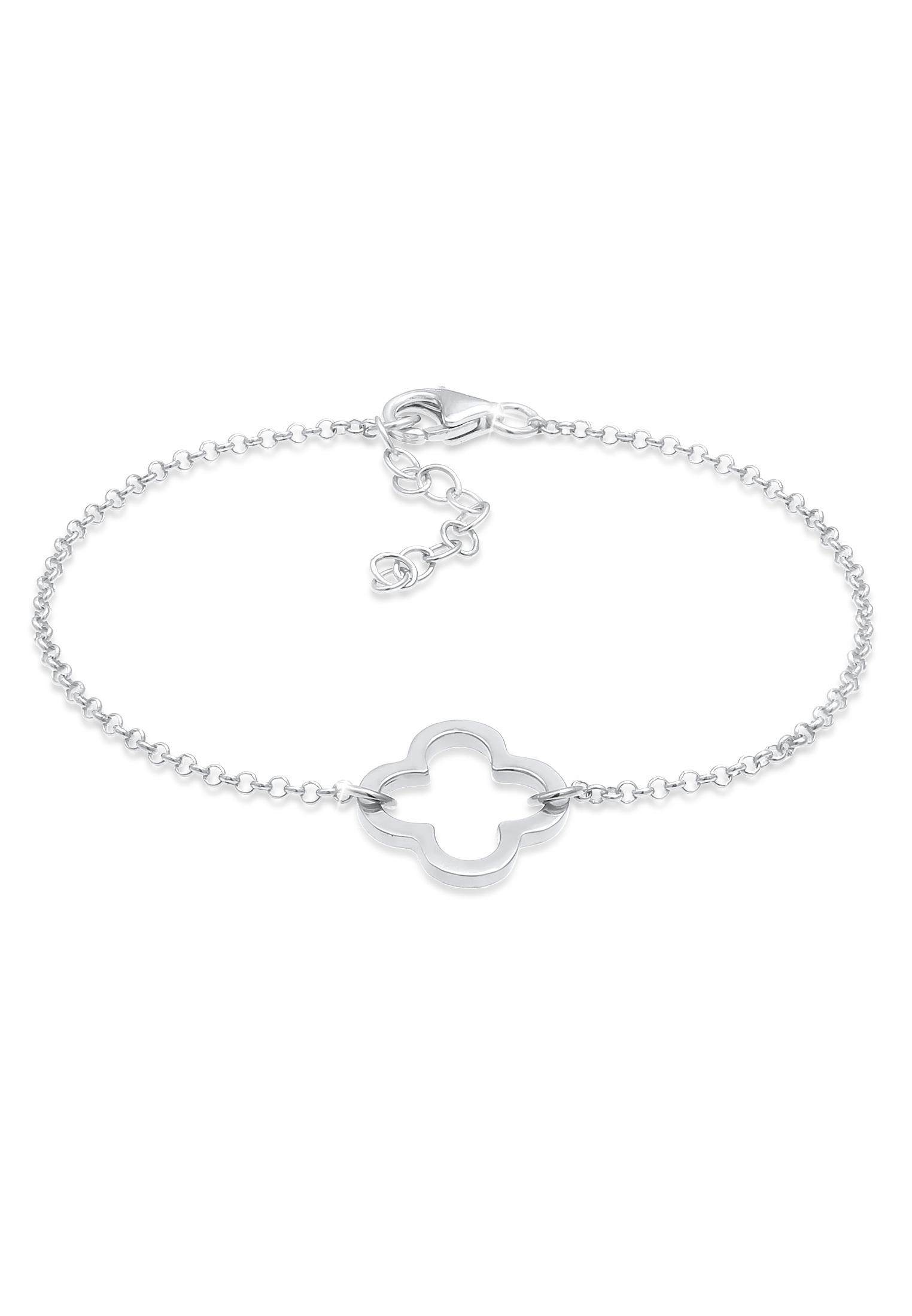Armband Kleeblatt   925er Sterling Silber