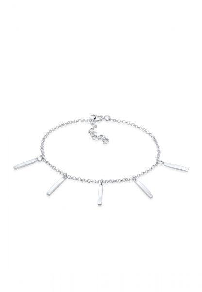 Elli Armband Bettelarmband Look Erbskette Geo Stift 925 Silber