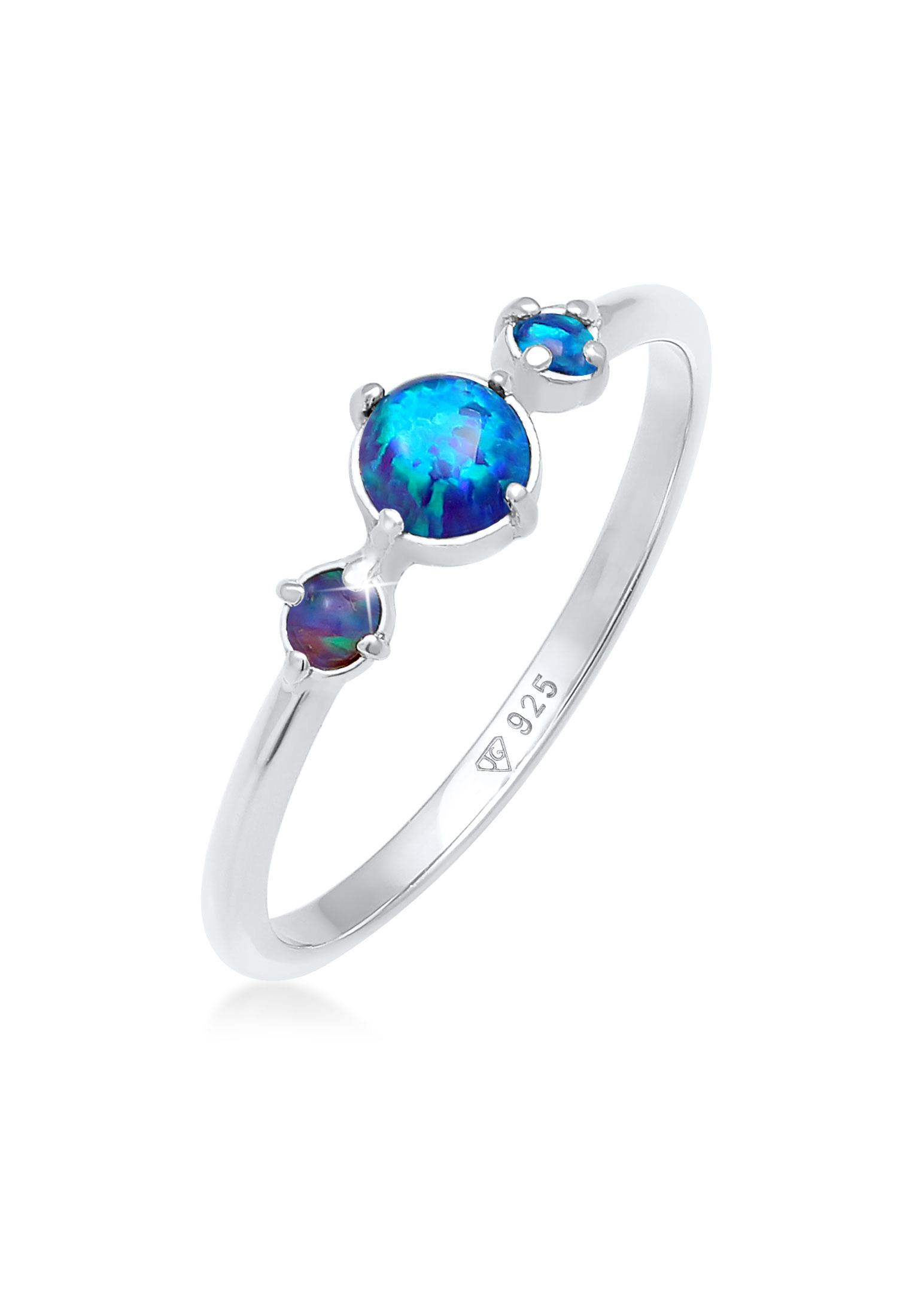 Ring | Opal ( Weiß ) | 925er Sterling Silber