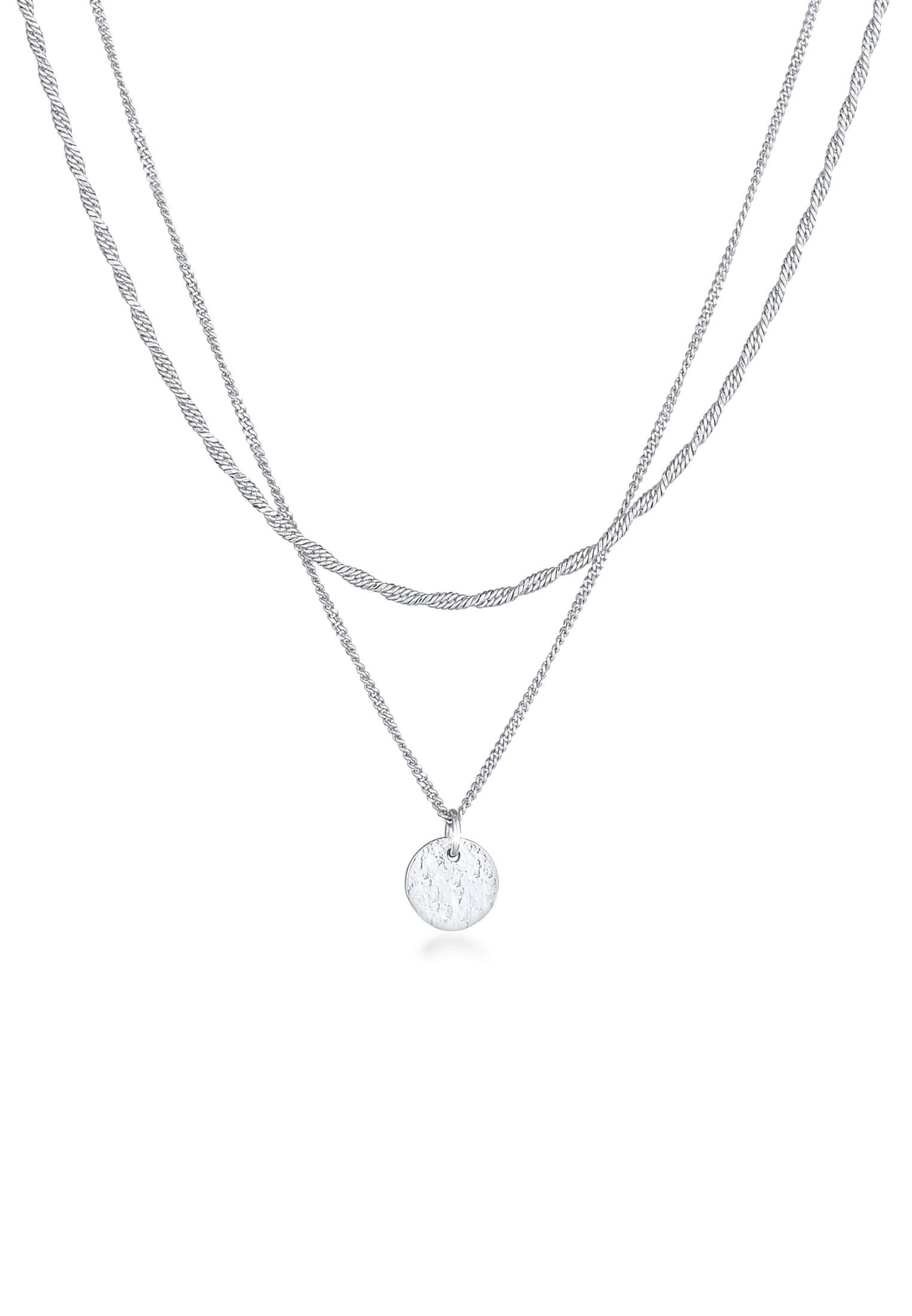 Layer-Halskette   925er Sterling Silber