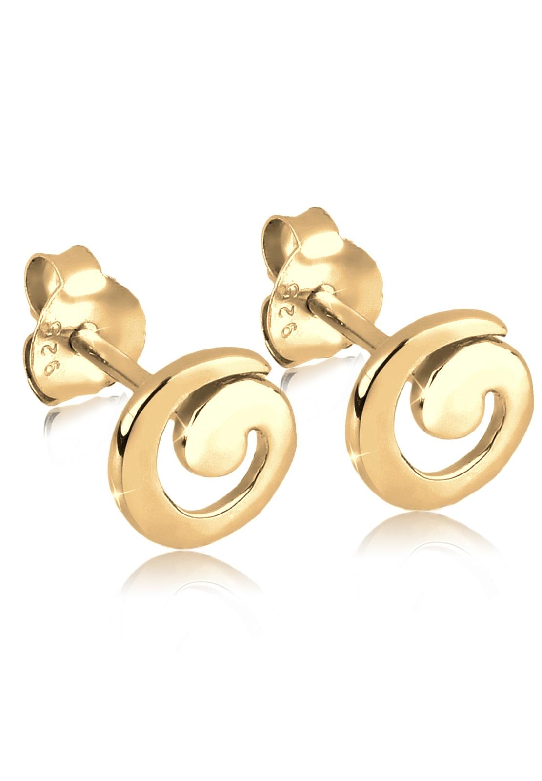 Ohrstecker Spirale | 925er Sterling Silber