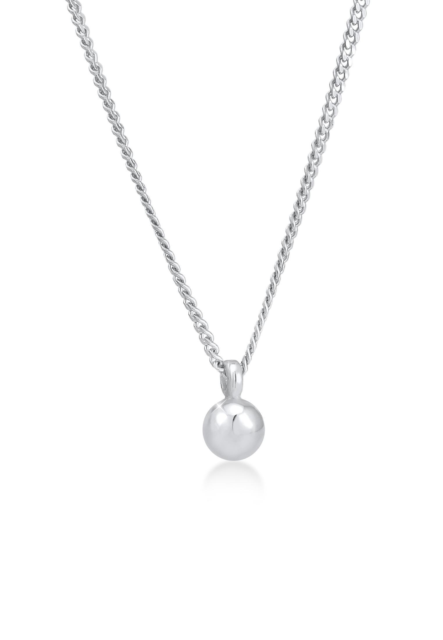 Halskette Kugel | 925er Sterling Silber
