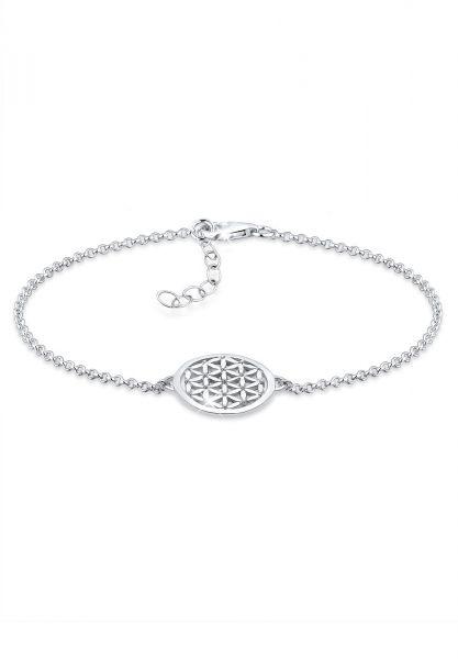 Armband Lebensblume   925er Sterling Silber