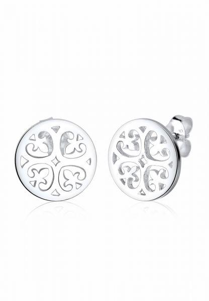 Elli Ohrringe Ornament Orientalisch Filigran 925 Silber