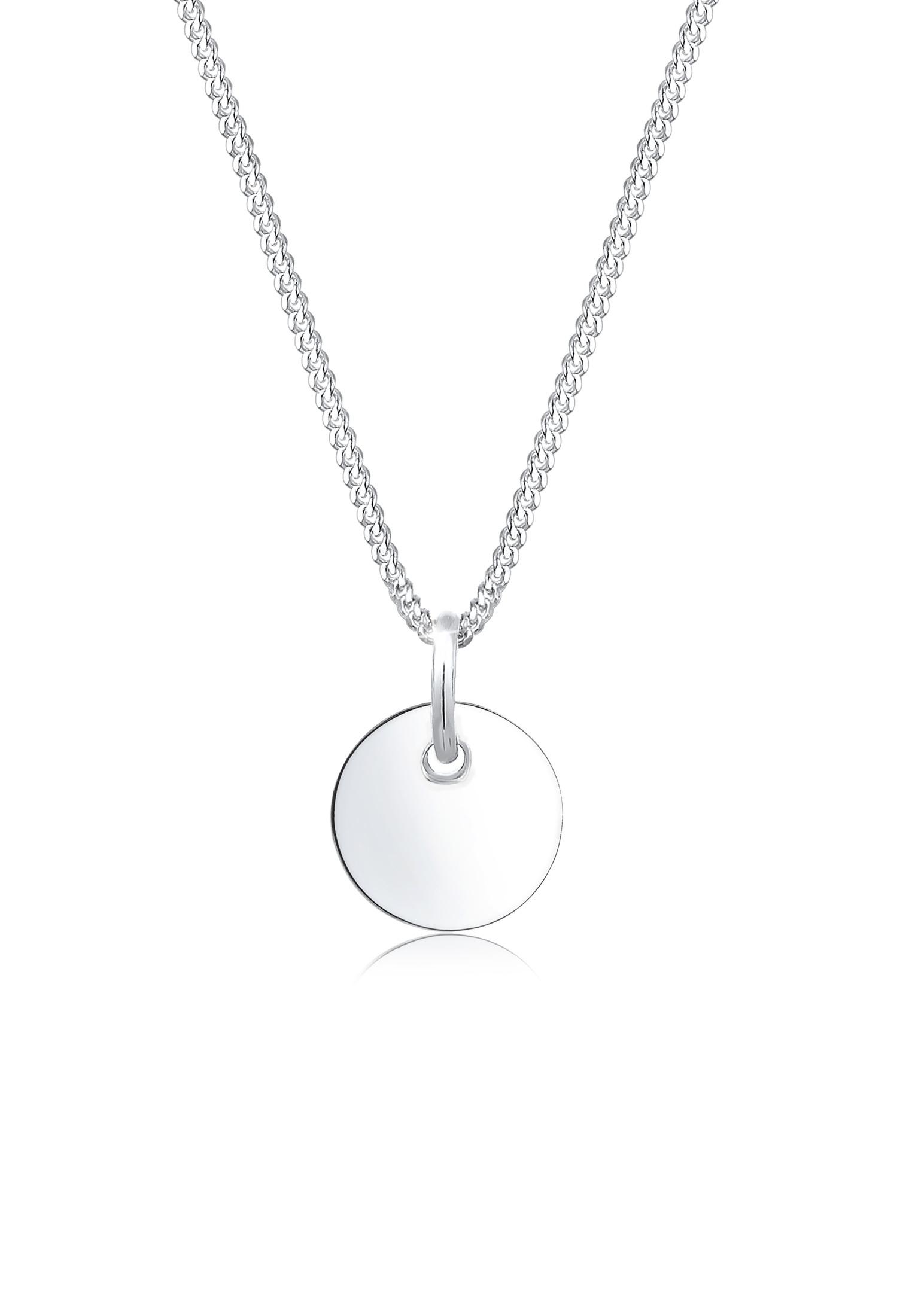 Halskette Plättchen | 925er Sterling Silber