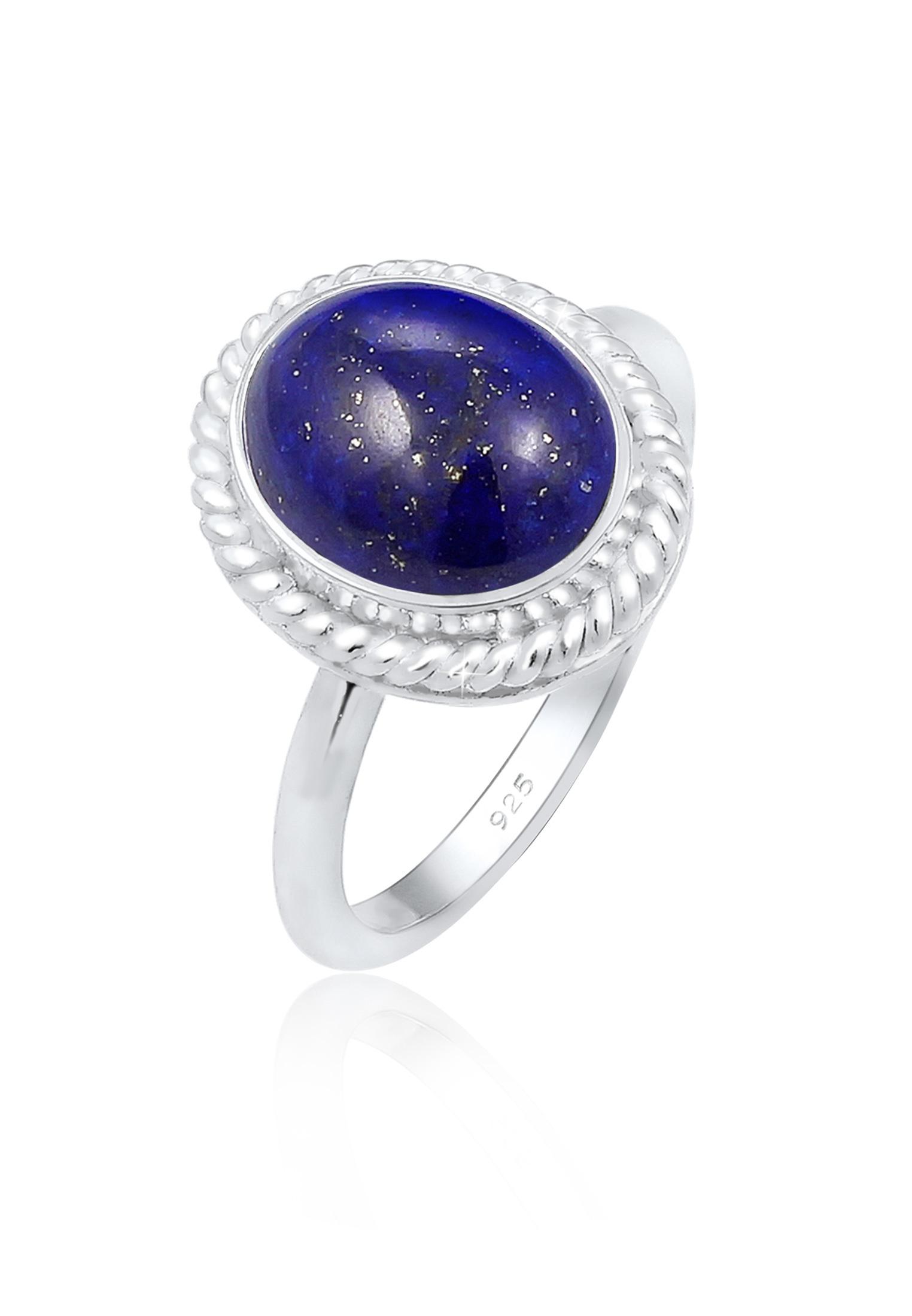 Ring | Lapis Lazuli ( Blau ) | 925er Sterling Silber