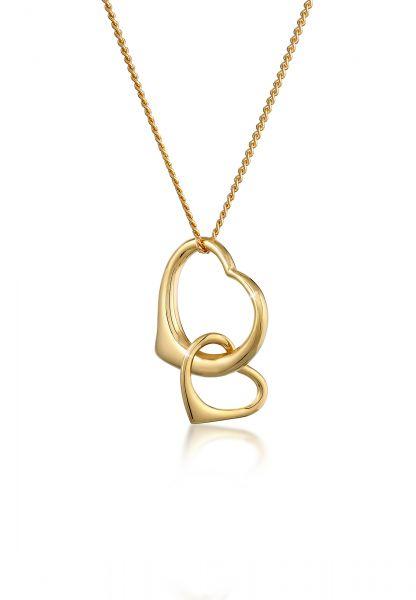 Halskette Herz | 585 Gelbgold