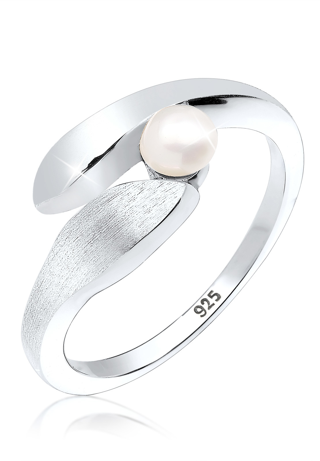Ring   Süßwasserperle   925er Sterling Silber