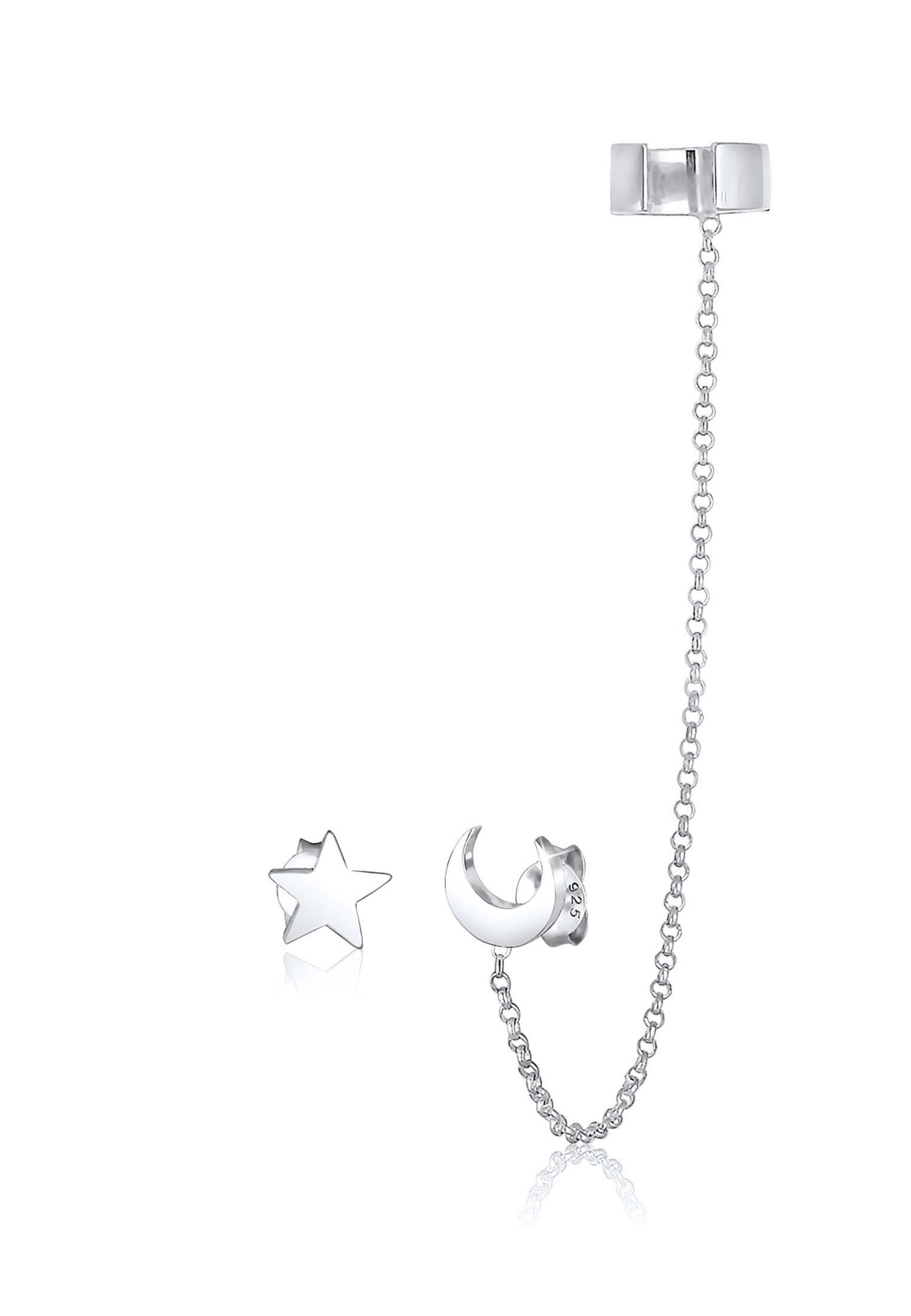 Earcuff Astro | 925er Sterling Silber