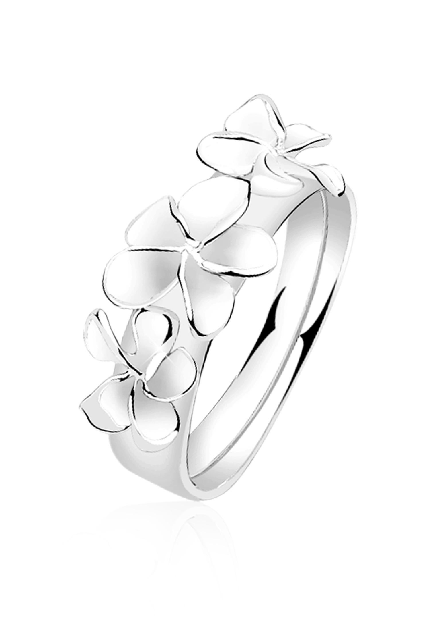 Ring Blume | 925er Sterling Silber