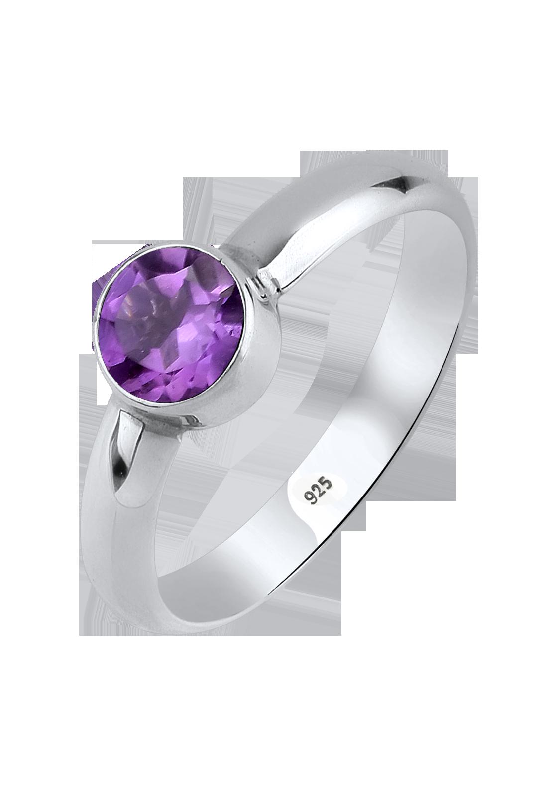 Der Amethyst gehört zu den violetten Edelsteinen