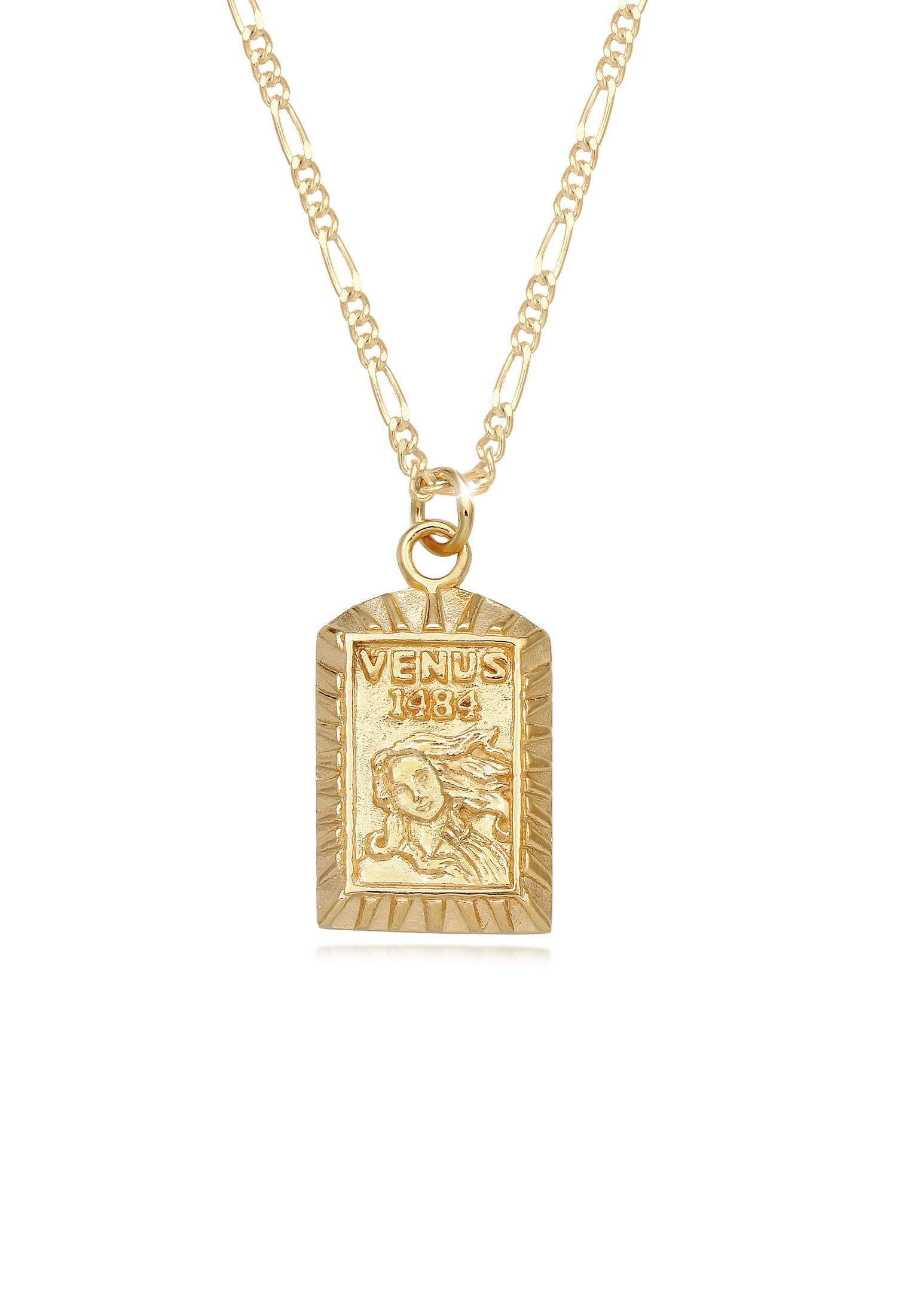 Figaro-Halskette   925 Sterling Silber vergoldet