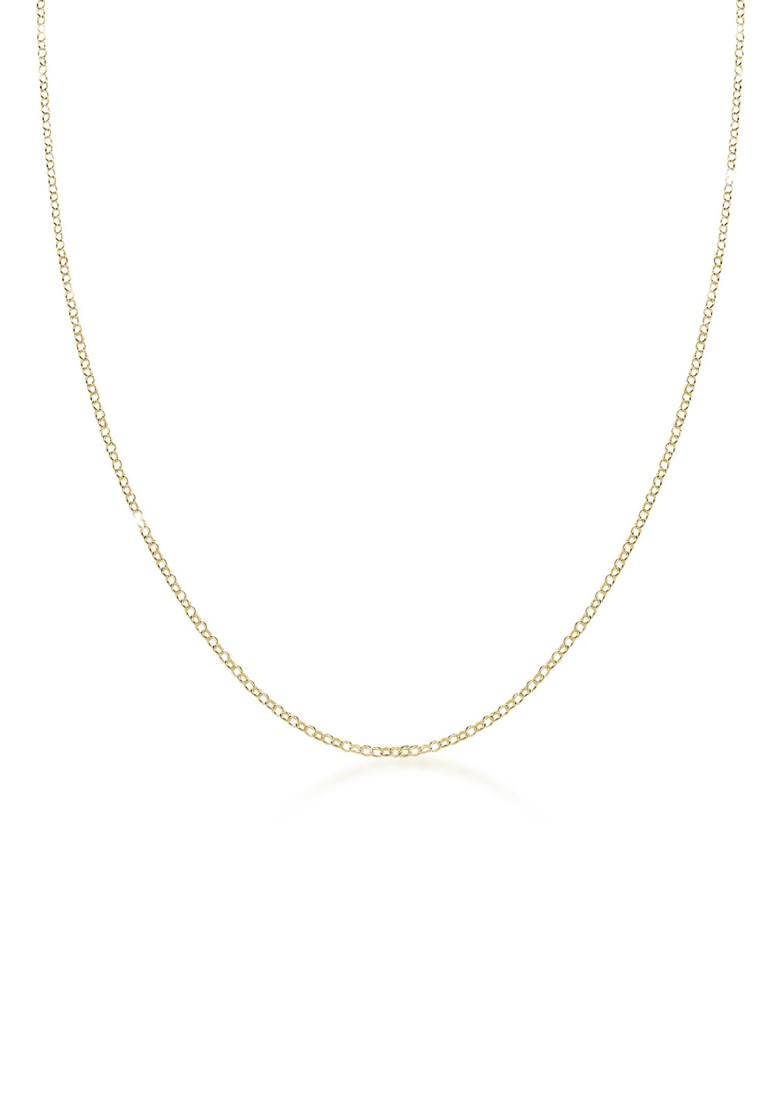 Halskette   375 Gelbgold