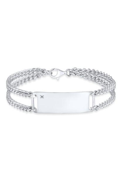 Armband ID Platte | 925er Sterling Silber