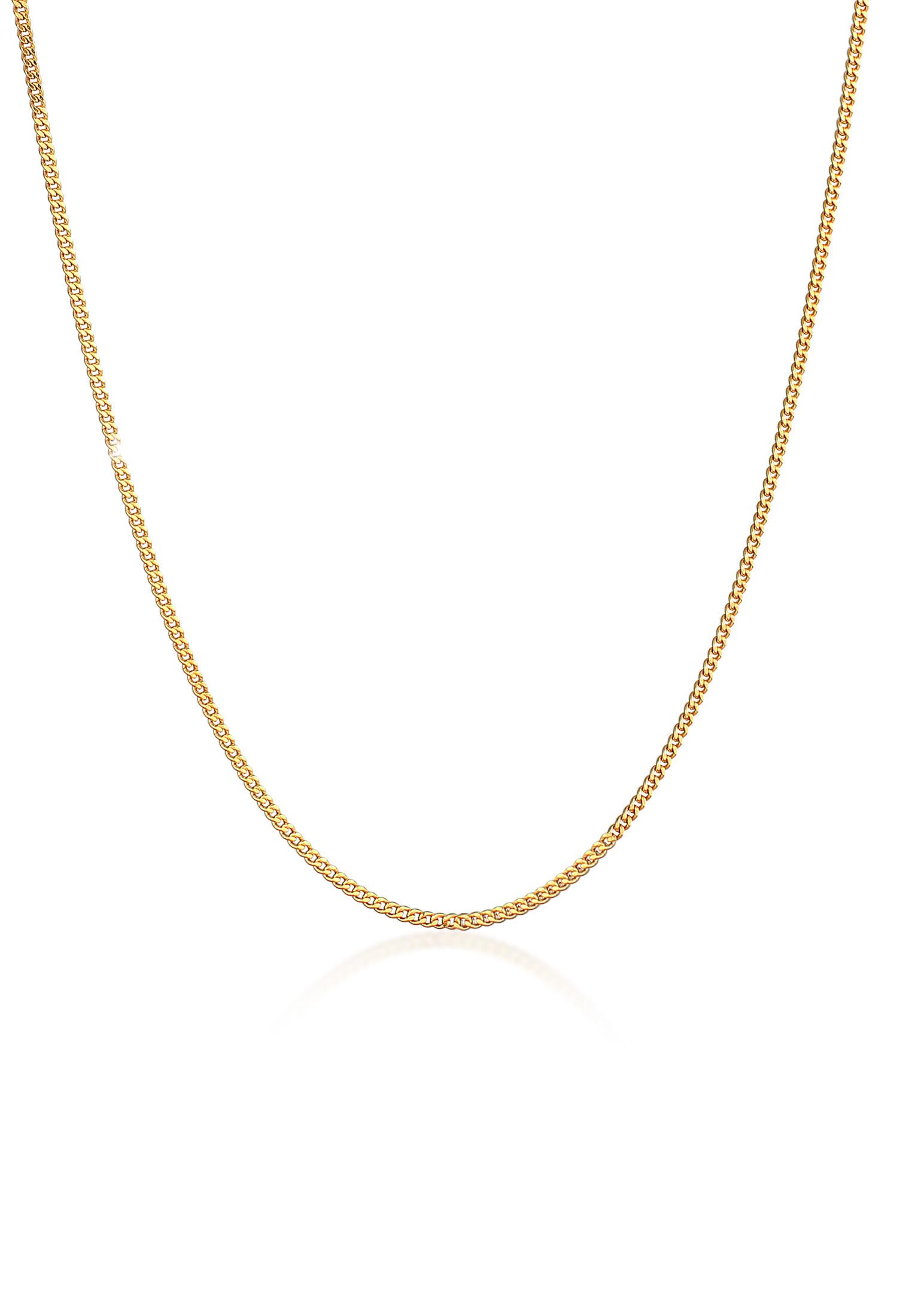 Halskette   925 Sterling Silber vergoldet