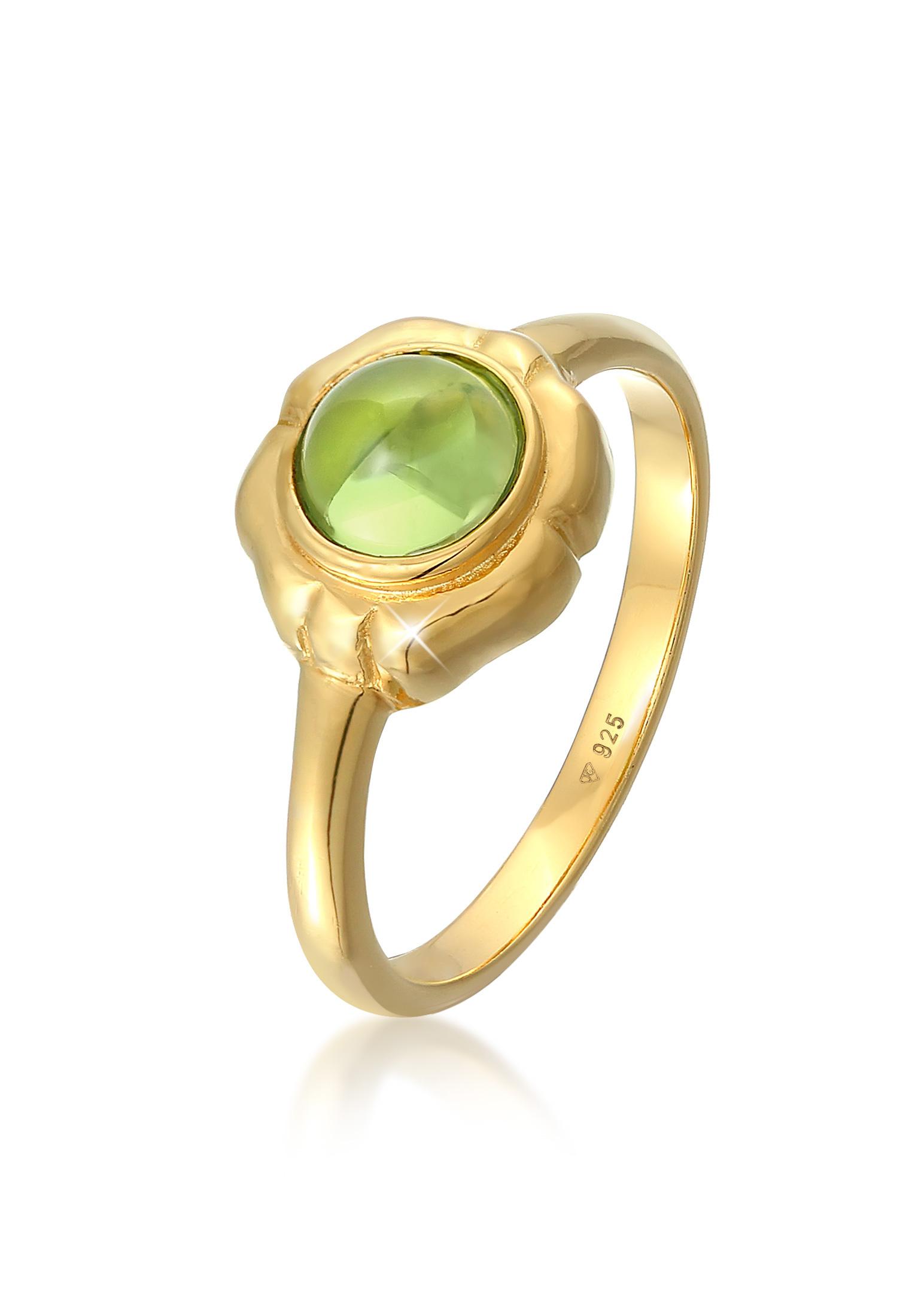 Ring   Peridot (grün)   925er Sterling Silber