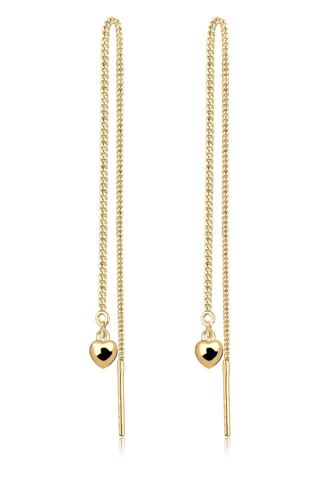 Ohrhänger Ear Chain | 925 Sterling Silber vergoldet