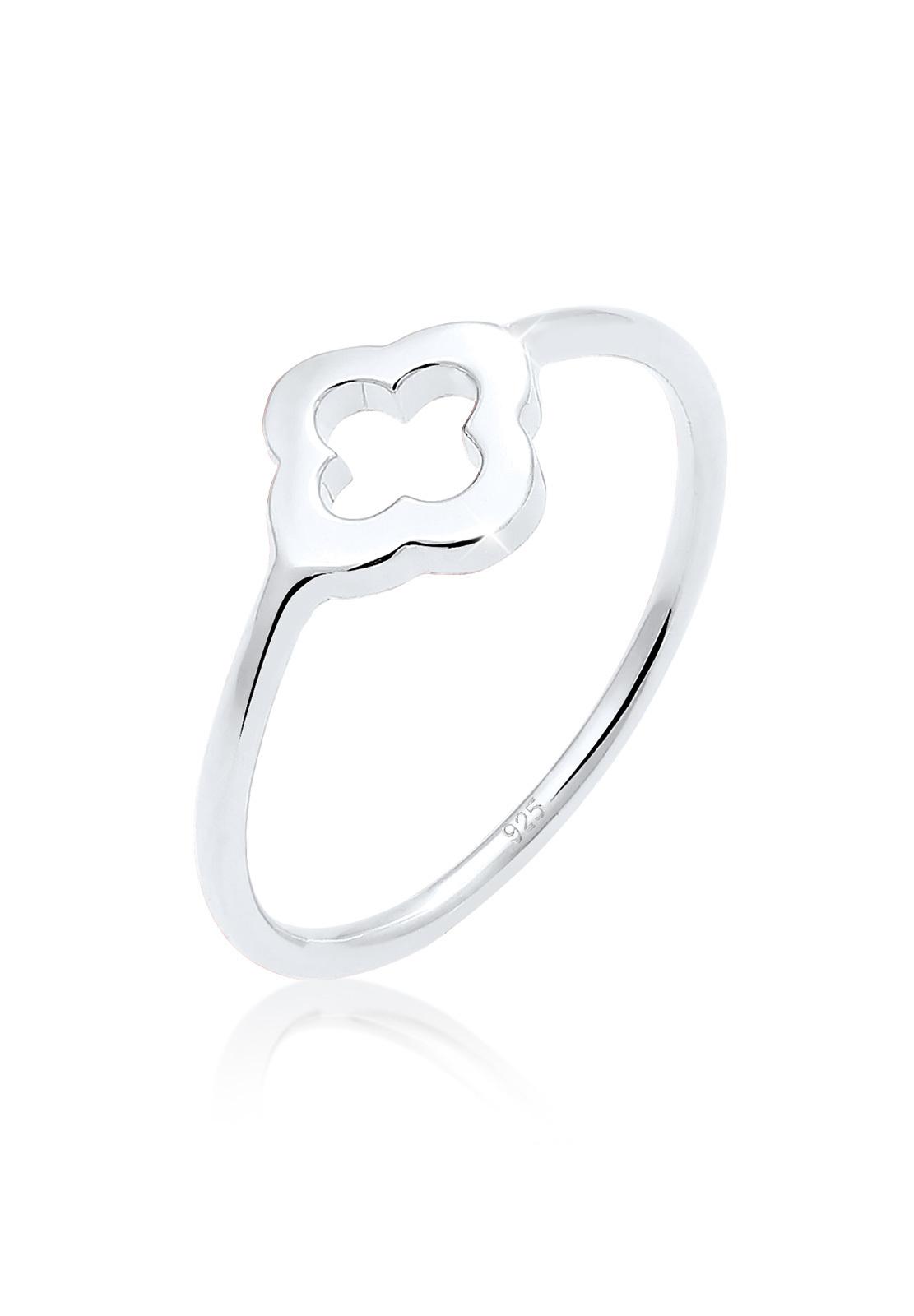 Ring Kleeblatt | 925er Sterling Silber
